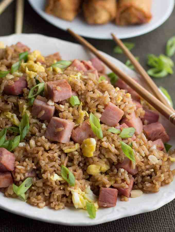 Fried Rice with Leftover Ham DSC_0522