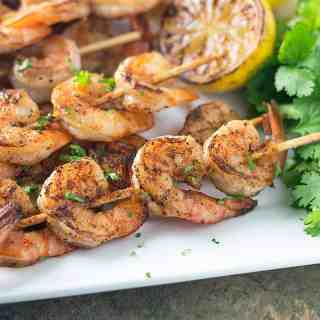 I make these easy and tasty Drunken Cajun Shrimp Skewers for just about every party I throw because this quick Cajun Beer Marinade is everything! Read my tips below to help you make these and even do a little meal planning as you grill!