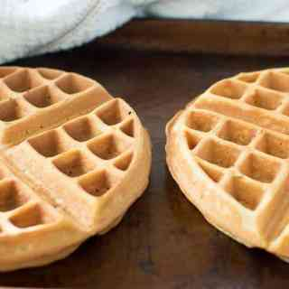 Food Freezing Tips: Homemade Waffles