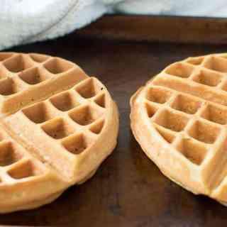 Food Freezing Tips: Homemade Waffles