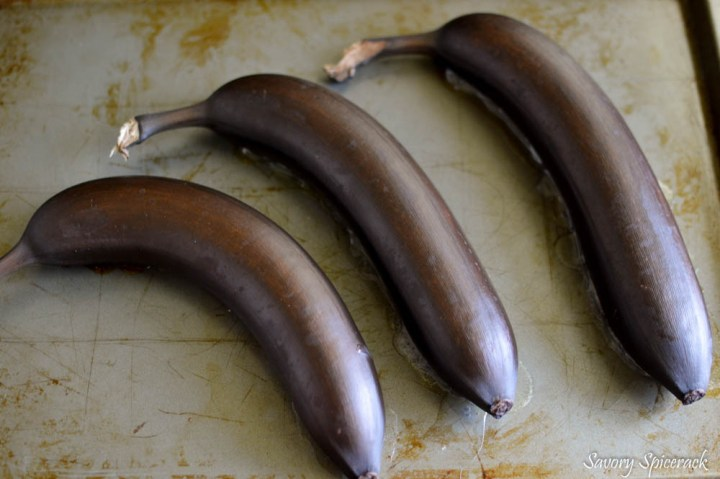 making over ripe bananas