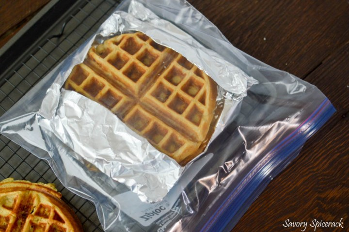 Homemade Freezer Waffles 4