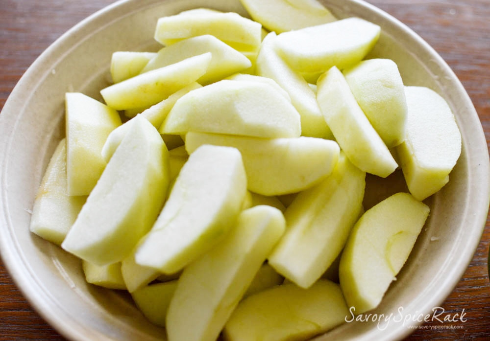 Brandied Cinnamon Apples