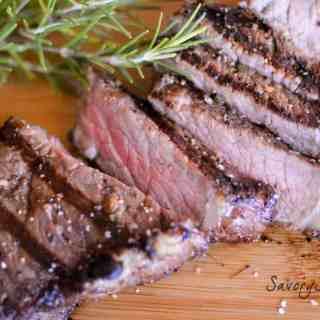 Red Wine Rosemary Marinated Steaks