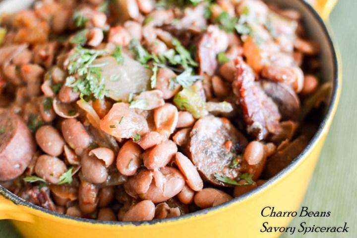 easy slower charro beans