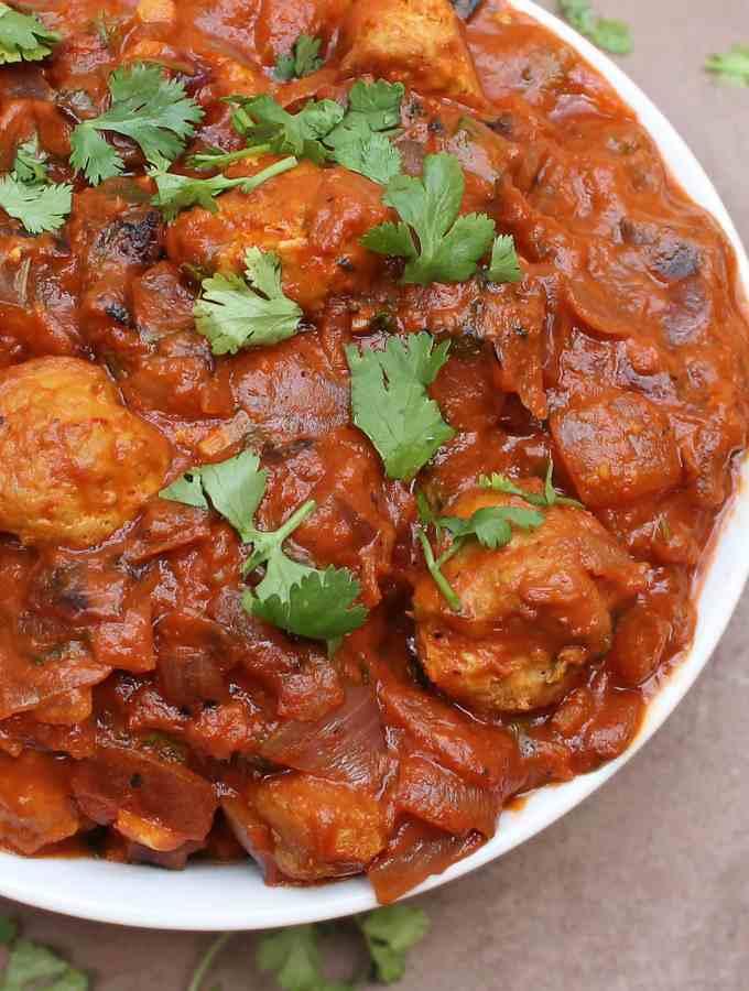 Turkey Ball Curry {Recipe Redux}