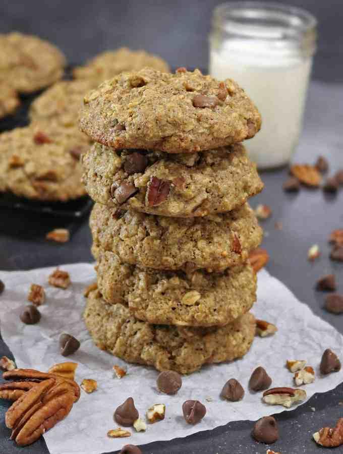 Gluten Free, Chocolate Chip Pecan Cookies