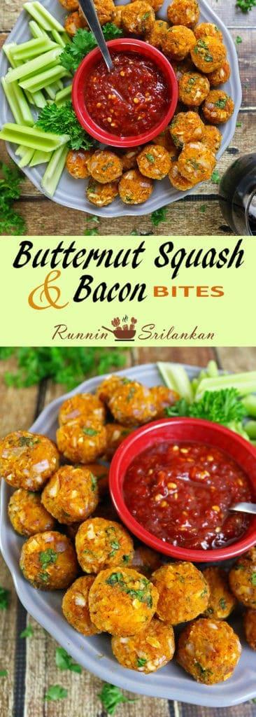 Butternut Squash Bacon Bites