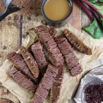 Chocolate Beet Biscotti {Gluten-Free}