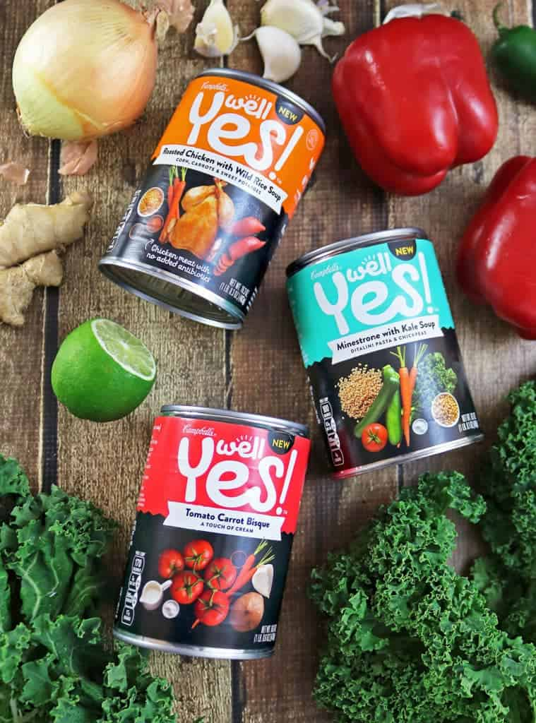 Five fun lunch pairings with Campbell's Well Yes!™ #WellYesMoment