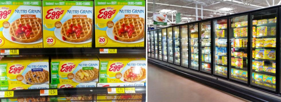New Eggo Waffles at Walmart