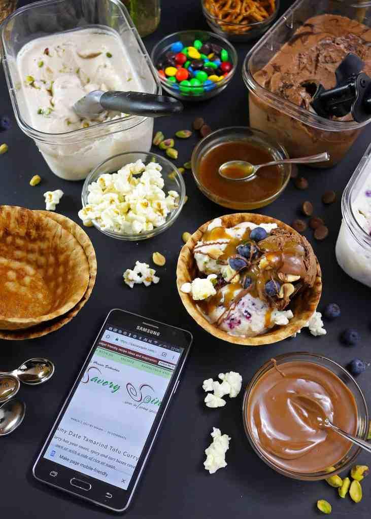 No-Churn, Dairy-Free Ice Cream Movie Night Party