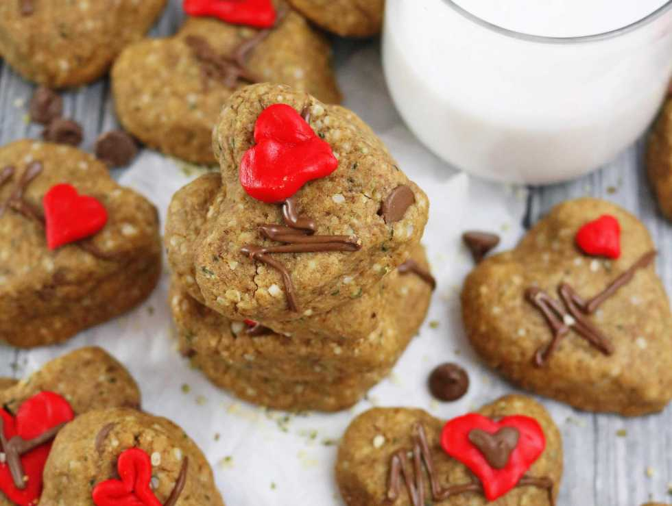 Easy Chocolate hemp Cookies