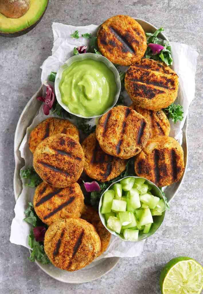 Easy Chickpea Potato Patties