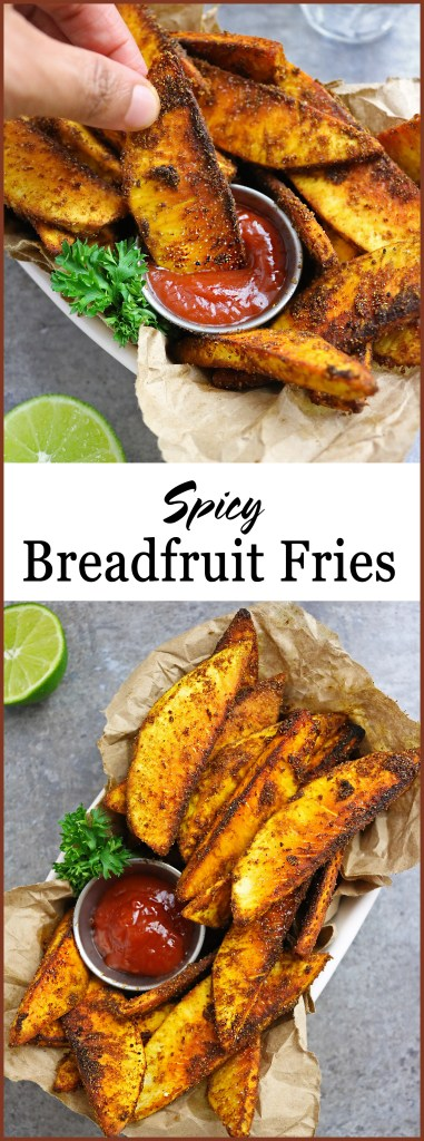 Easy Tasty Spicy Breadfruit Fries