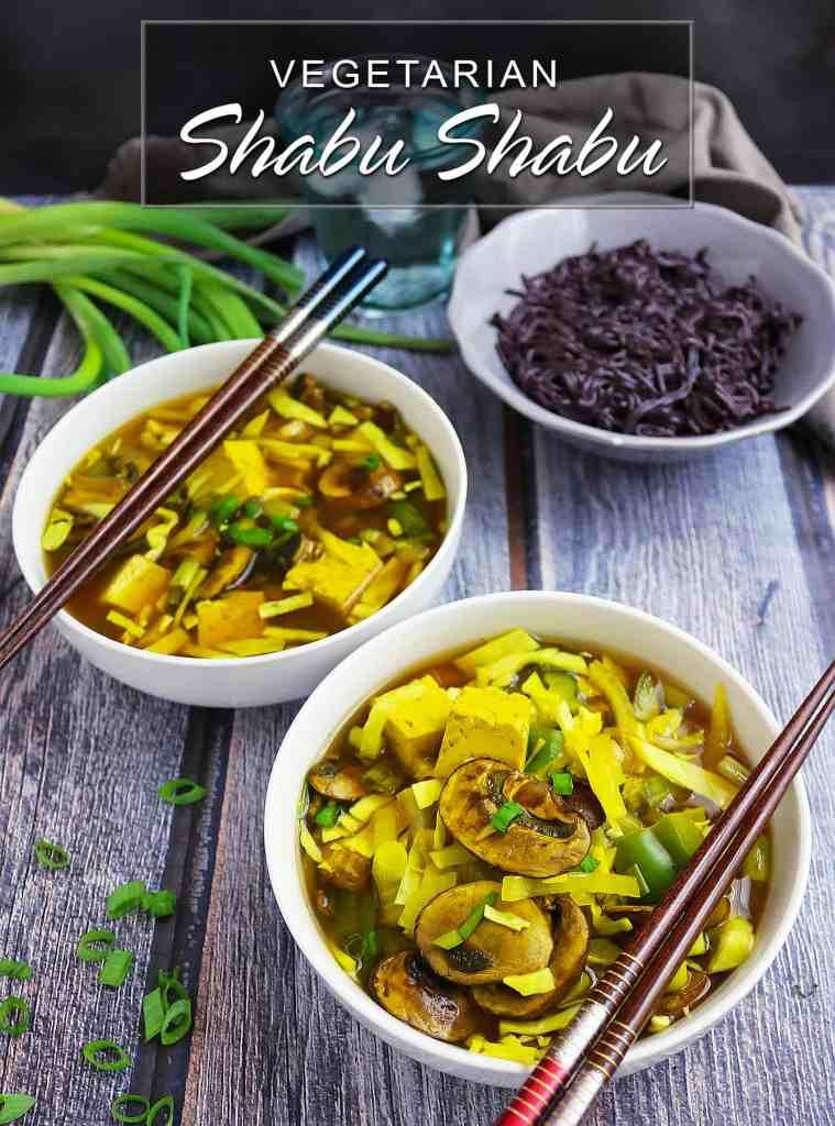 Easy Vegetarian Shabu Shabu