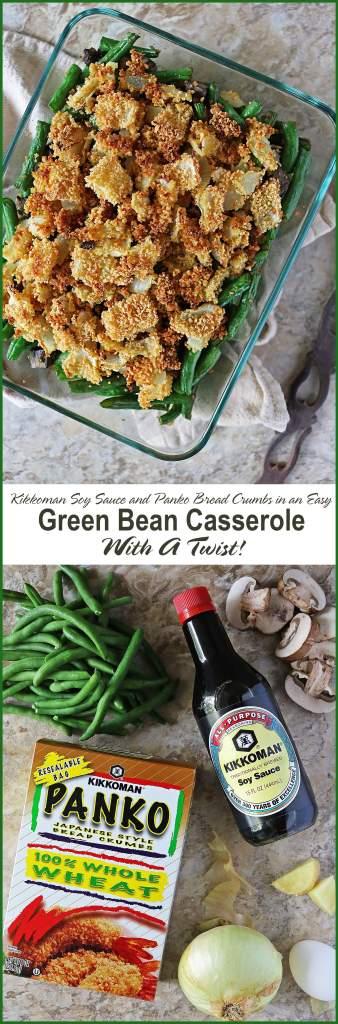 Kikkoman® Green Bean Casserole #SeasonYourHolidays