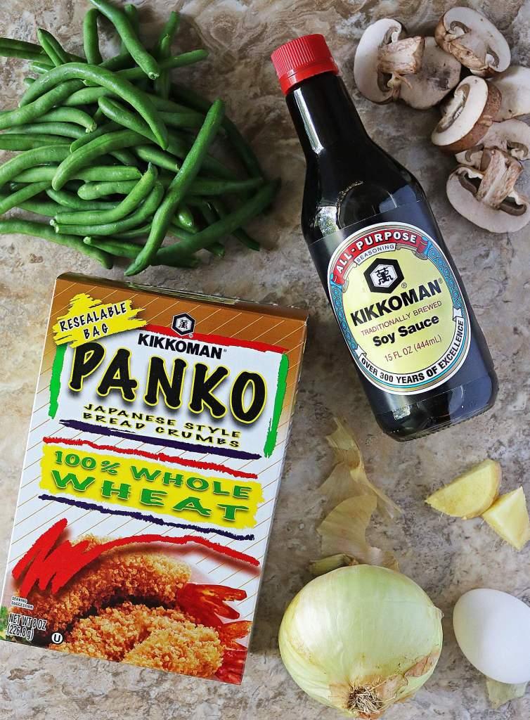 Kikkoman® Soy Sauce and Kikkoman® Panko Breadcrumbs