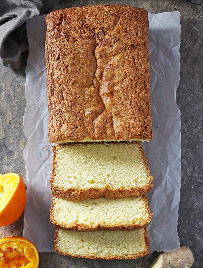 Easy Orange Ginger Loaf