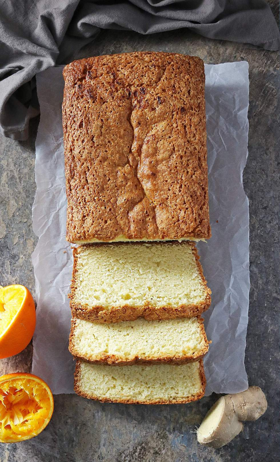 Easy Orange Ginger Loaf