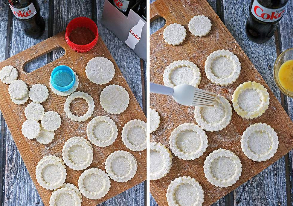 Puff Pastry Baskets Prep