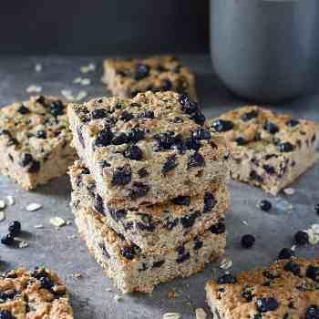 Gluten Free Blueberry Bars