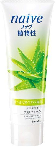 NAIVE Facial Cleansing Wash, Aloe
