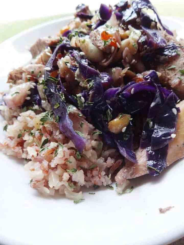 Chicken and Cabbage Stir Fry