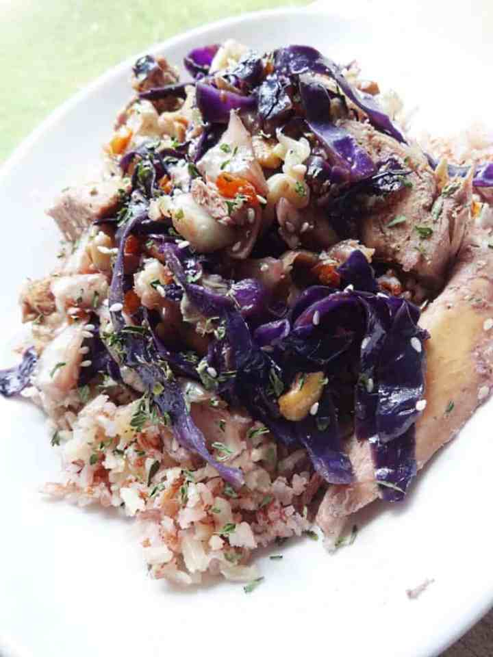 Chicken Cabbage Stir Fry
