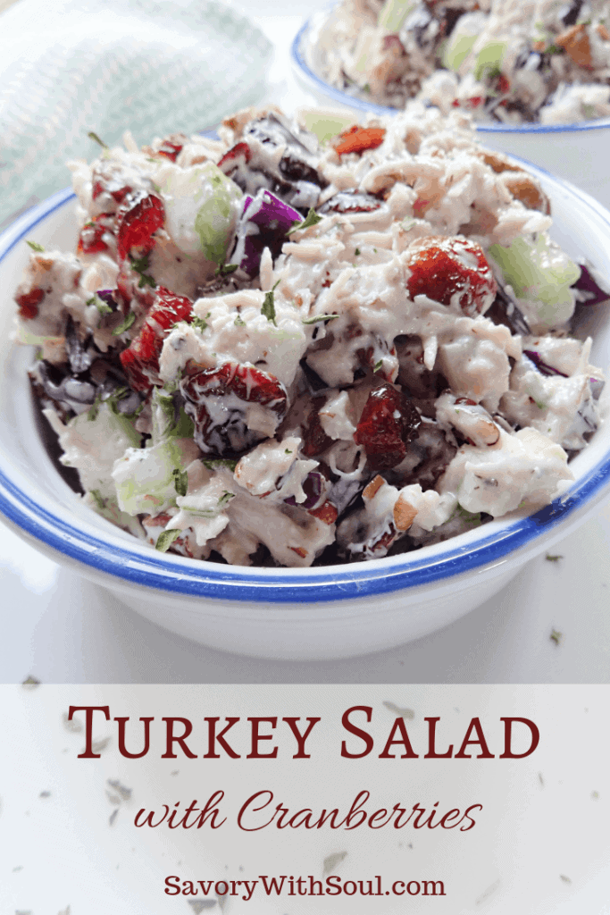 Turkey Salad with Cranberries