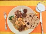 lunch at Chandeleo photo - Karen Anderson