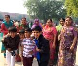 family outing to the Taj photo - Karen Anderson