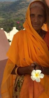 Elderly woman, Udaipur photo - Karen Anderson