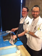 A Whole lot of Halibut for Chef Dan and Chef Kyle to play with photo - Karen Anderson