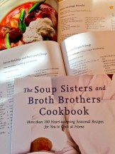 The new cookbook in support of Soup Sisters - photo - Karen Anderson