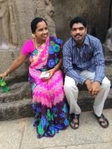 Honeymooners in Tamilnadu - photo - Karen Anderson