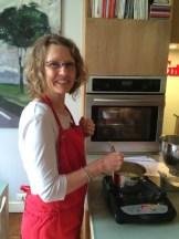 Kim Irving - stirring it up something fun (as ever) - photo - Karen Anderson