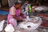 pappadum street vendor - photo - Karen Anderson
