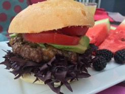 Shish ka-burger - photo - Karen Anderson