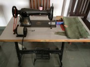 Sewing machine at Sunder Rang - photo credit - Karen Anderson @savouritall