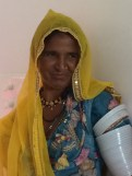 Rajasthani village woman - photo credit - Karen Anderson - @savouritall