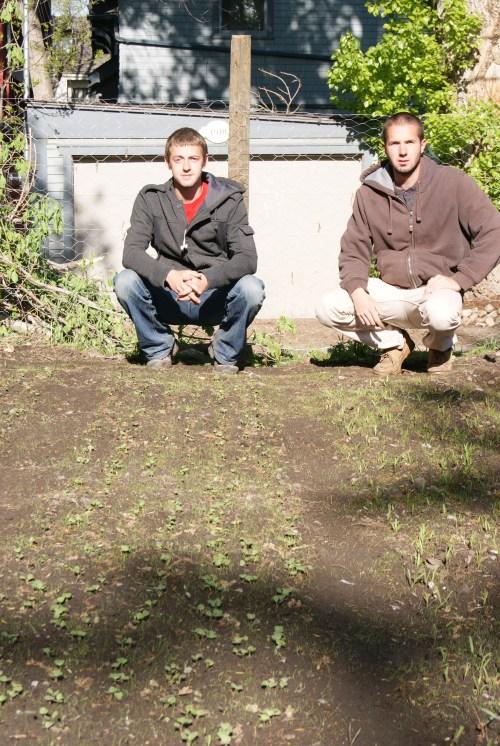 Will Carnegie and Chris Kostashuk