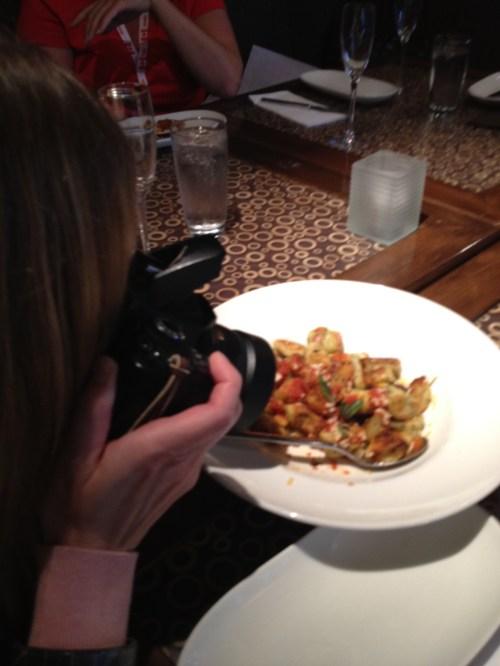 food writer cum food paparazzi