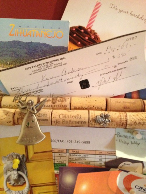 It is possible to get paid for writing - my first cheque was from City Palate Magazine