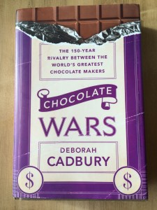 Chocolate Wars by Deborah Cadbury takes you from Montezuma to Mars - read it and you see what I'm talking about photo - Karen Anderson