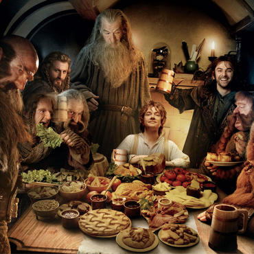 Hobbits live the longest...it must be their Middle-terrain-ean diet