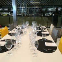 The very elegant Yellow Door Bistro hosted the 2014 Iron Sommelier Challenge for City Palate magazine photo - Karen Anderson