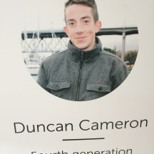 Duncan Cameron joined Skipper Otto's CSF in 2013 photo courtesy of Skipper Otto's CSF