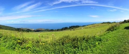 Spain's green coast - costa verde - near San Sebastian - photo - Karen Anderson