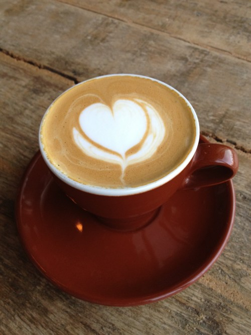 I heart coffee - photo - Karen Anderson
